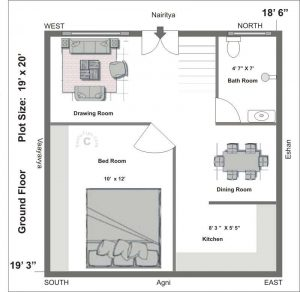 North facing house vastu plan model floor plans shriastrologer Kitchen design tips as per vastu