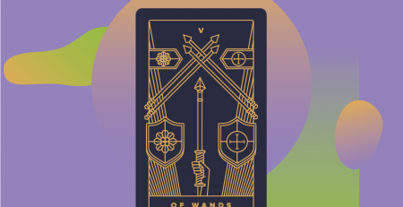 Five of Wands reversed interpretation & Meaning Guide